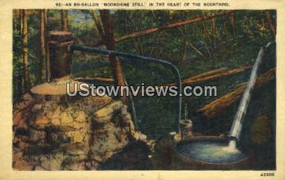Bo-Gallon - Misc, North Carolina NC Postcard