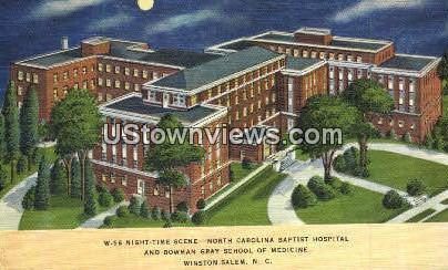 North Carolina Baptist Hospital - Winston-Salem Postcard
