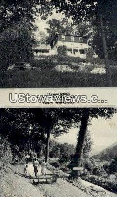 Balsam Lodge - North Carolina NC Postcard