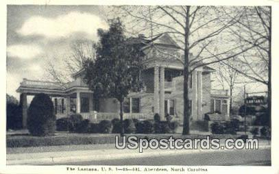 The Lantana - Aberdeen, North Carolina NC Postcard