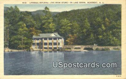 Lakeside Building - Montreat, North Carolina NC Postcard