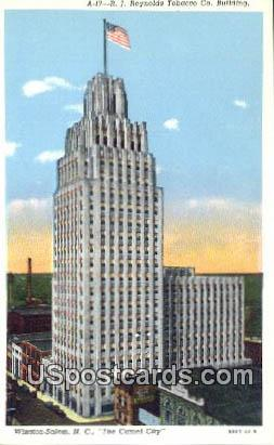 RJ Reynolds Tobacco Co Building - Winston-Salem, North Carolina NC Postcard