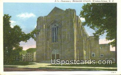 Centenary Methodist Church - Winston-Salem, North Carolina NC Postcard