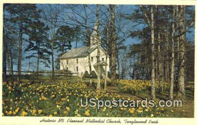 Mt Pleasant Methodist Church - Winston-Salem, North Carolina NC Postcard