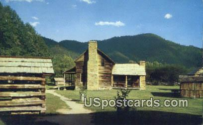 Pioneer Farmstead - Great Smoky Mountains National Park, North Carolina NC Postcard