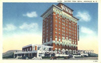 Battery Park Hotel - Asheville, North Carolina NC Postcard