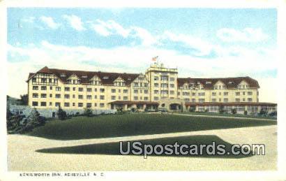 Kenilworth Inn - Asheville, North Carolina NC Postcard
