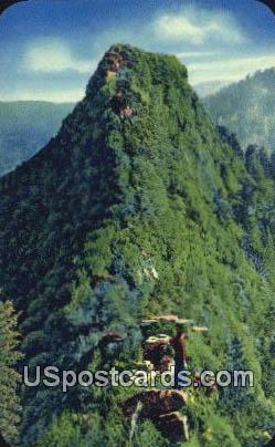 Chimney Tops - Great Smoky Mountains National Park, North Carolina NC Postcard