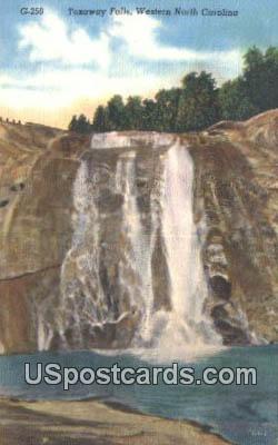 Toxaway Falls - Western North Carolina Postcards, North Carolina NC Postcard