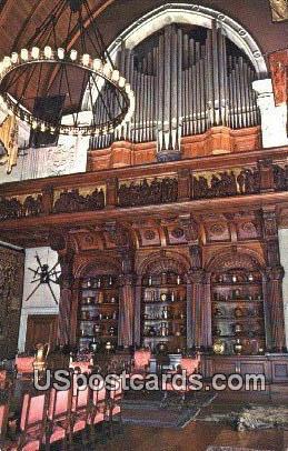 Organ Gallery - Asheville, North Carolina NC Postcard