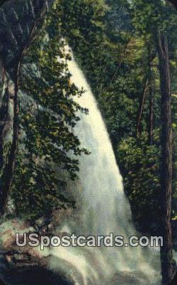 Rainbow Falls - Great Smoky Mountains National Park, North Carolina NC Postcard