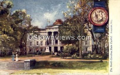 The North Carolina State Capitol - Raleigh Postcard