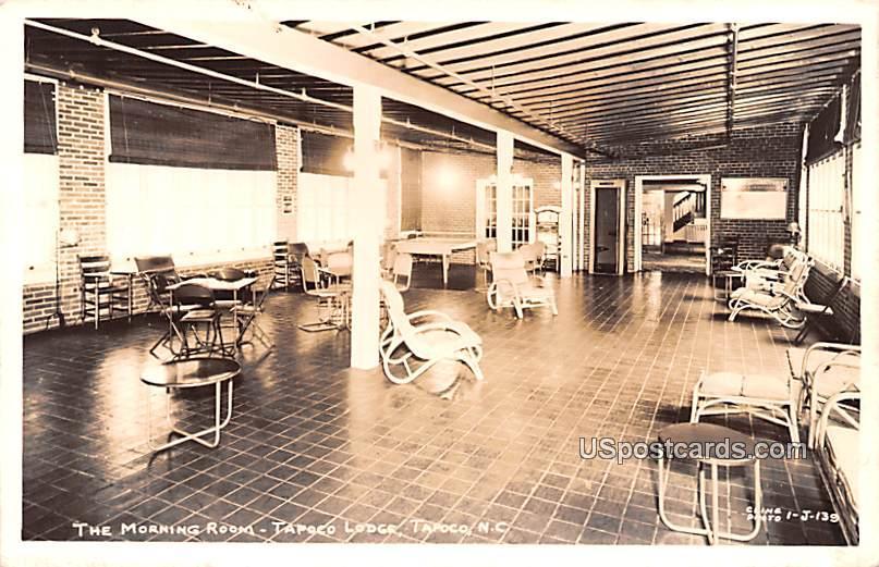 The Morning Room - Tapoco, North Carolina NC Postcard