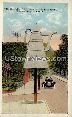 The Big Coffee Pot - Winston-Salem, North Carolina NC Postcard