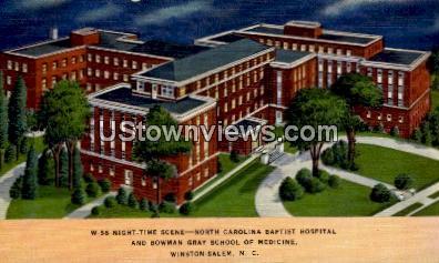 Bowman Gray School of Medicine - Winston-Salem, North Carolina NC Postcard
