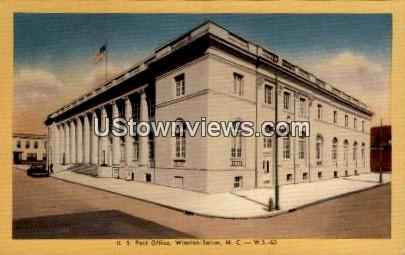 U.S. Post Office - Winston-Salem, North Carolina NC Postcard