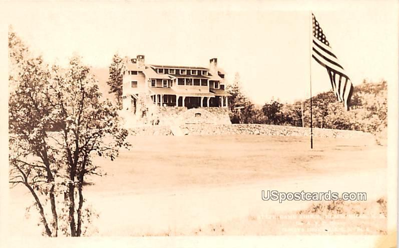 State Game Lodge - Black Hills, North Dakota ND Postcard