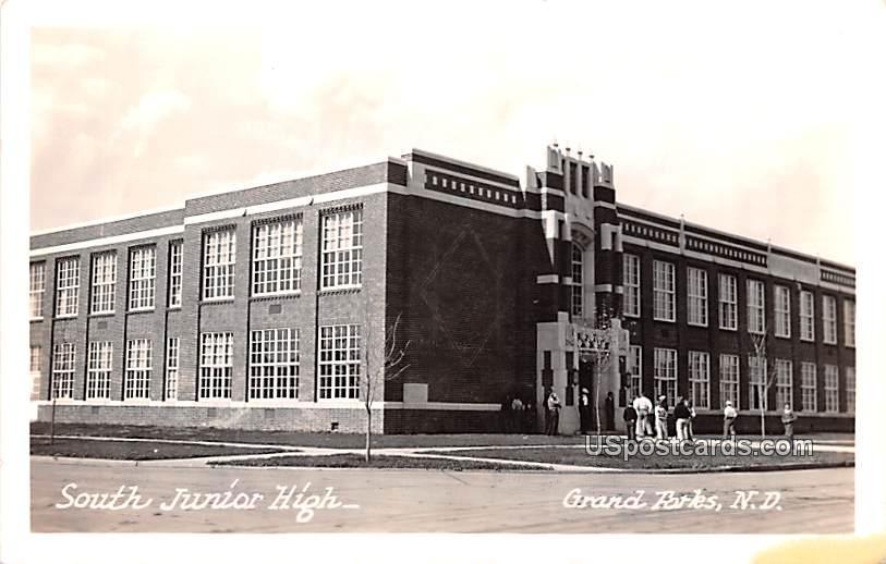 South Junior High - Grand Forks, North Dakota ND Postcard