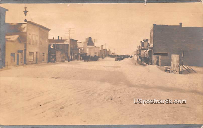Winter Scene - Hope, North Dakota ND Postcard