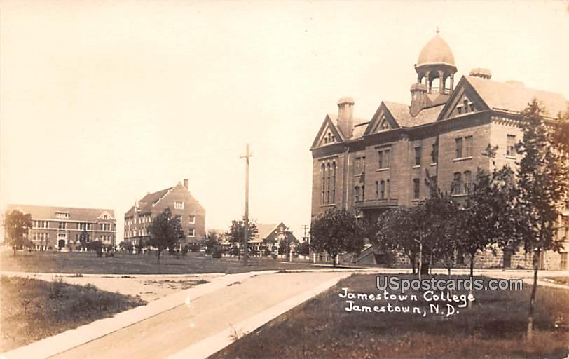 Jamestown College - North Dakota ND Postcard