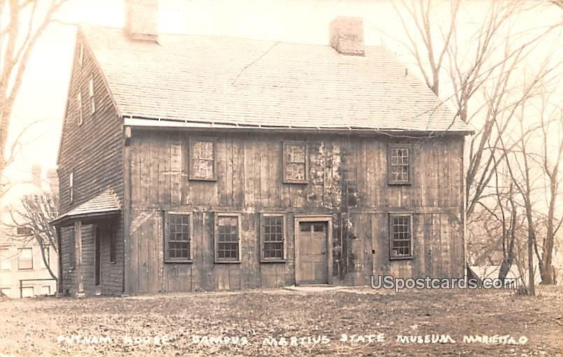 Putnam House - Mariettao, North Dakota ND Postcard
