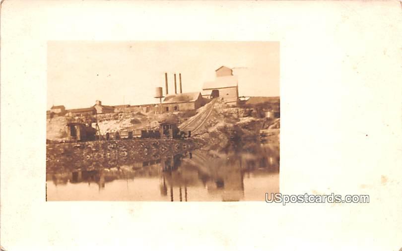 Mining - Misc, North Dakota ND Postcard