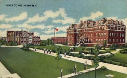 Boys Town - Nebraska NE Postcard
