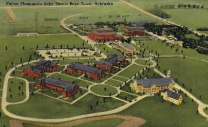 Father Flanagan's Boys' Home - Boys Town, Nebraska NE Postcard