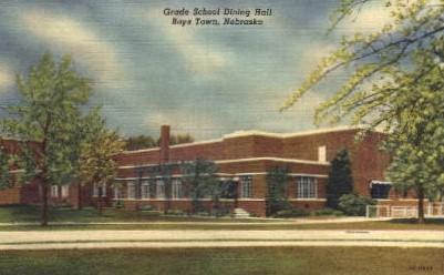 Grade School Dining Hall - Boys Town, Nebraska NE Postcard