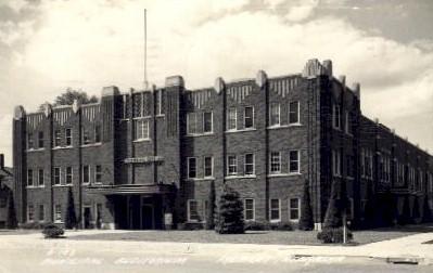 Municipal Auditorium - Fremont, Nebraska NE Postcard