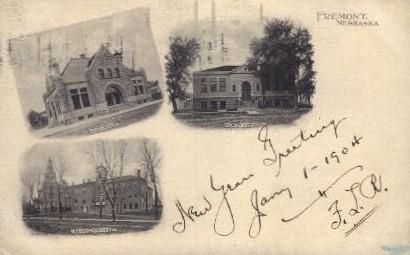 Fremont - Nebraska NE Postcard