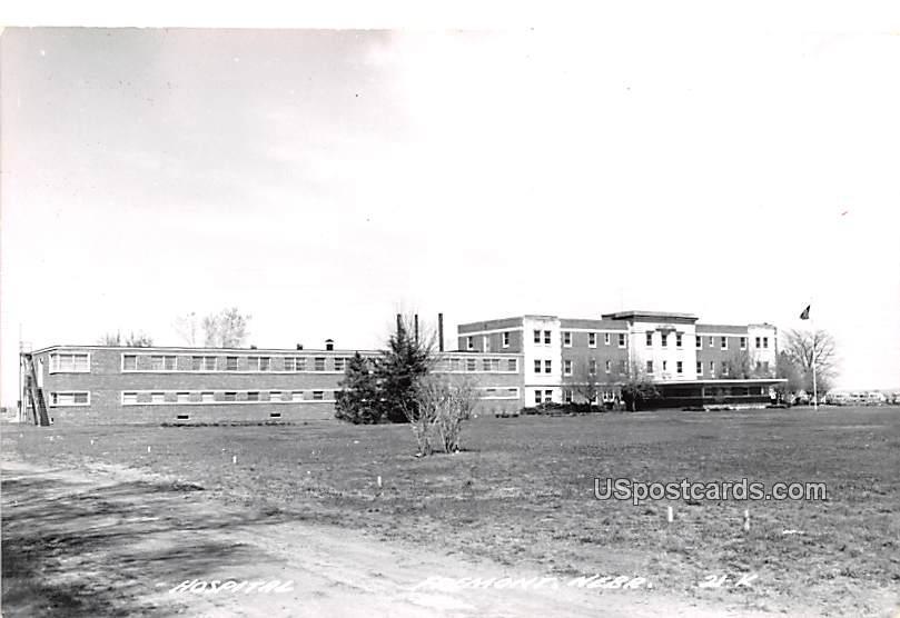 Hospital - Fremont, Nebraska NE Postcard