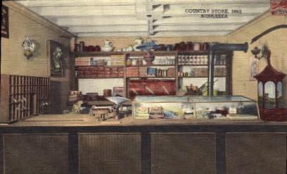 Country Store, 1880 - Hastings, Nebraska NE Postcard