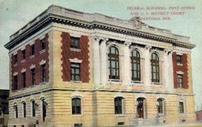 Federal Building Post Office - Hastings, Nebraska NE Postcard
