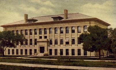 Agricultural Hall, State Farm - Lincoln, Nebraska NE Postcard
