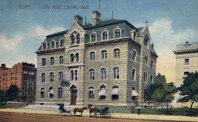 City Hall - Lincoln, Nebraska NE Postcard