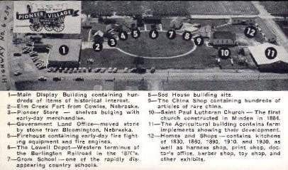 Pioneer Village - Lincoln, Nebraska NE Postcard