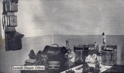 Lowell Depot Office - Lincoln, Nebraska NE Postcard