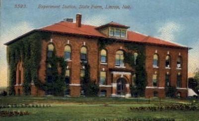 Experiment Station, State Farm - Lincoln, Nebraska NE Postcard