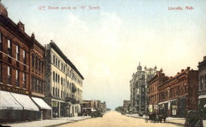 12th Street looking North of