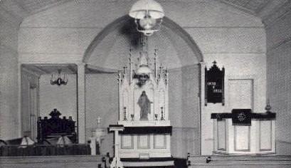Lutheran Church - Pioneer Village - Lincoln, Nebraska NE Postcard