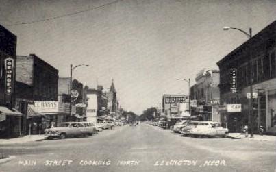 Main Street looking North - Lincoln, Nebraska NE Postcard