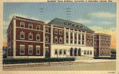 University of Nebraska - Lincoln Postcard