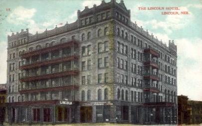 The Lincoln Hotel - Nebraska NE Postcard