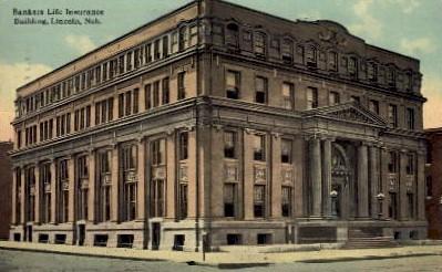 Bankers Life Insurance Building - Lincoln, Nebraska NE Postcard
