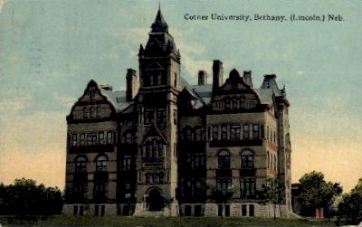 Cotner University, Bethany - Lincoln, Nebraska NE Postcard