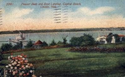 Capitol Beach - Lincoln, Nebraska NE Postcard