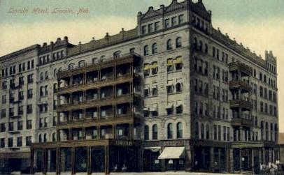 Lincoln Hotel - Nebraska NE Postcard