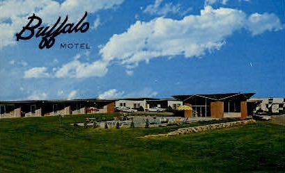 Buffalo Motel - Lincoln, Nebraska NE Postcard