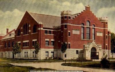 Armory, University of Nebraska - Lincoln Postcard
